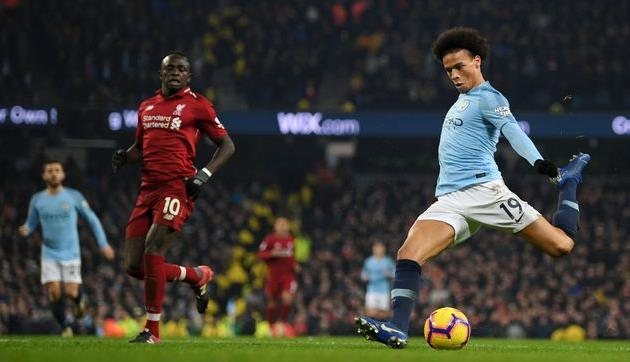 Манчестер Сити нанес Ливерпулю первое поражение в чемпионате Англии