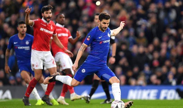 Сеск Фабрегас, twitter.com/ChelseaFC
