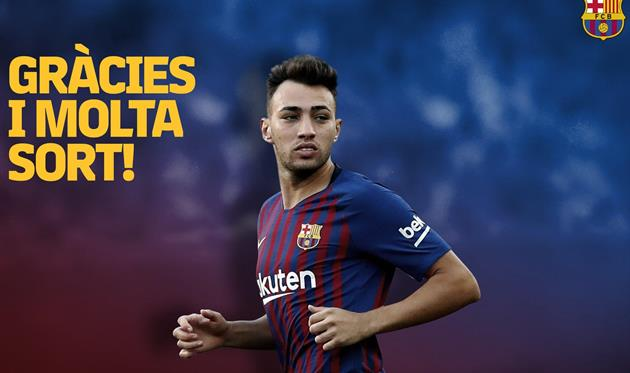 Барселона попрощалась с Муниром эль-Хаддади, фото ФК Барселона