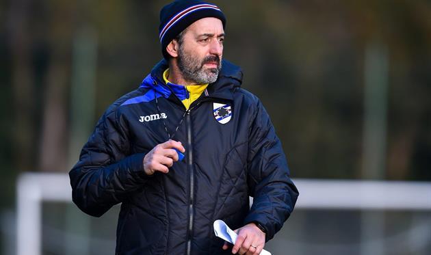 Марко Джампаоло, фото ФК Сампдория