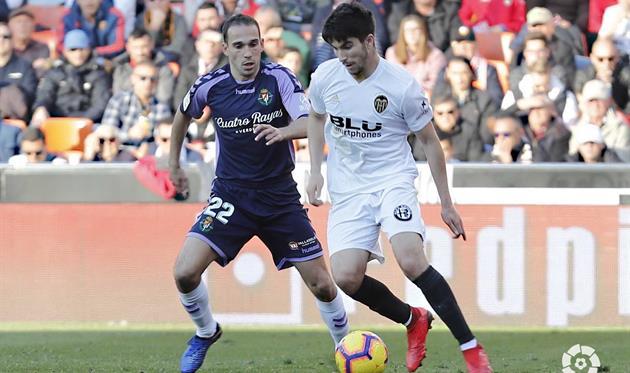 Валенсия не удержала победу в матче против Вальядолида