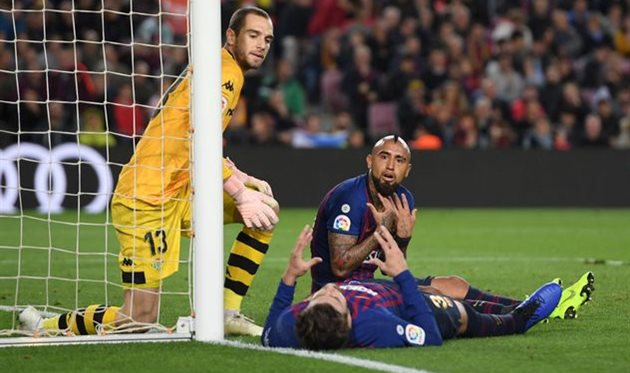 Артуро Видаль во время матча против Бетиса, Getty Images