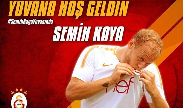Семих Кайя, фото ФК Галатасарай