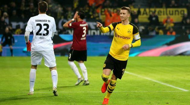 Немецкая футбольная команда гановер