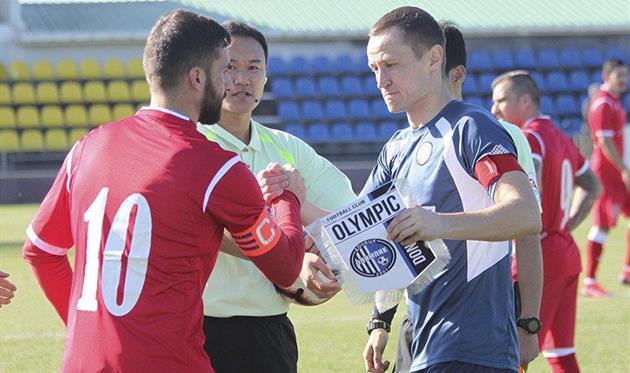 Дмитрий Гришко, фото ФК Олимпик