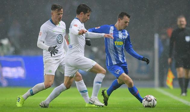 Герта обыграла Вольфсбург, Хоффенхайм не переиграл Фортуну