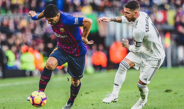 Барселона испания реал мадрид