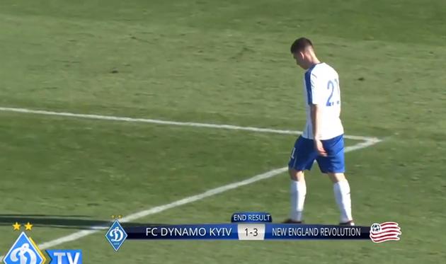 Динамо — Нью-Инглэнд Революшн 1:3 Видео голов и обзор матча