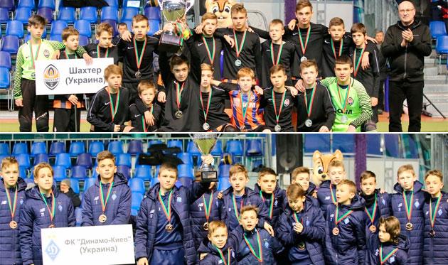 Защитник Динамо, вратарь и нападающий Шахтера — лучшие на международном турнире Minsk Cup