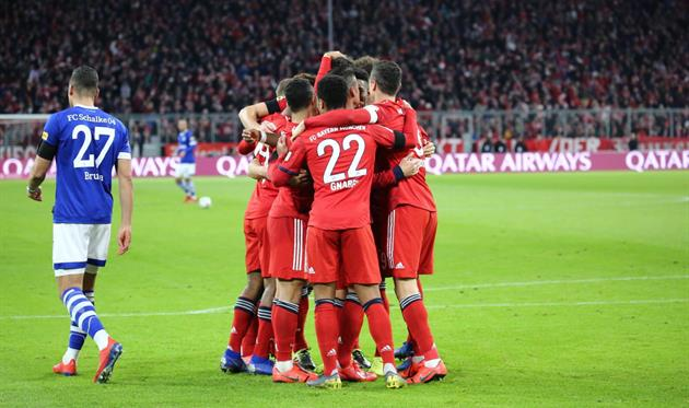 Бавария шальке 04 голы