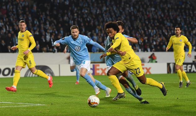 Виллиан, twitter.com/ChelseaFC