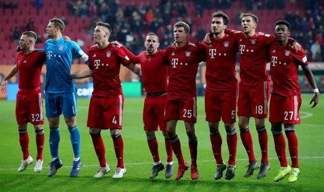 Футбол аугсбург бавария