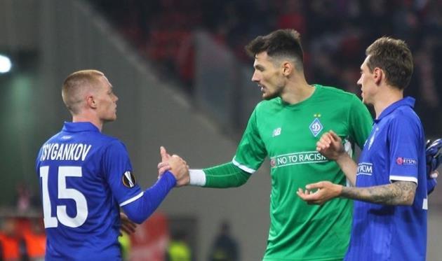 Бойко — лучший игрок Динамо в матче против Олимпиакоса