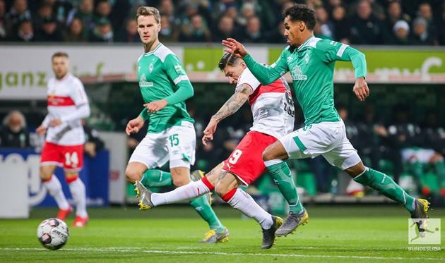 Гол Цубера, twitter.com/Bundesliga_EN