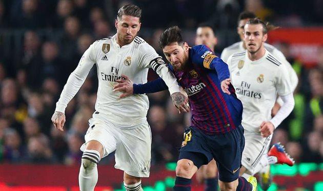 Рамос чаще всех проигрывал Барселоне на Бернабеу, Месси — чаще всех побеждал здесь Реал