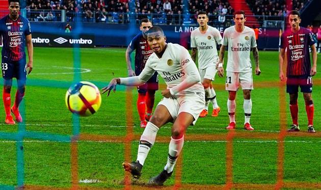 Первый гол Мбаппе, photo PSG FC