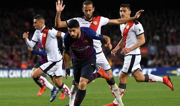 Барселона — Райо Вальекано 3:1 Видео голов и обзор матча