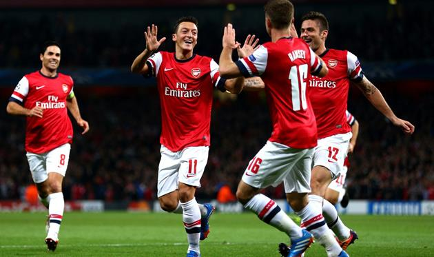 Арсенал первый матч с Наполи проведет дома, а не на выезде