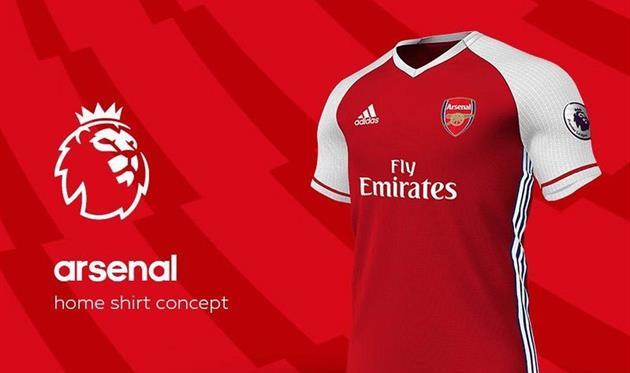 Новая форма Арсенала попала в сеть
