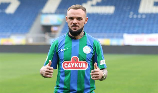 Николай Морозюк, photo Rizespor CK
