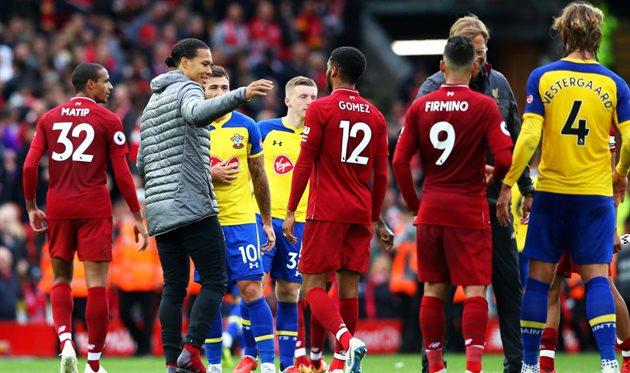 Саутгемптон - Ливерпуль, Getty Images