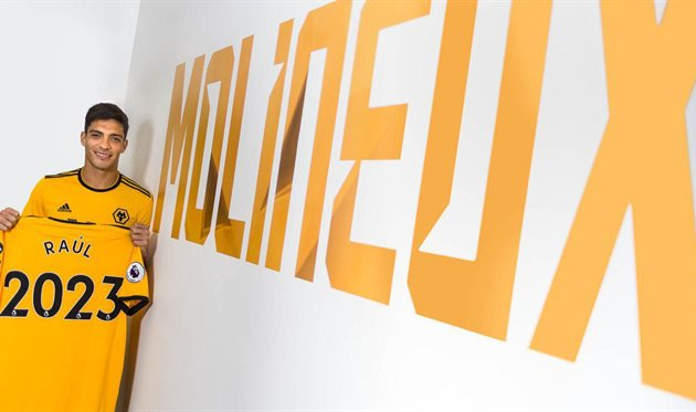 Рауль Хименес, wolves.co.uk