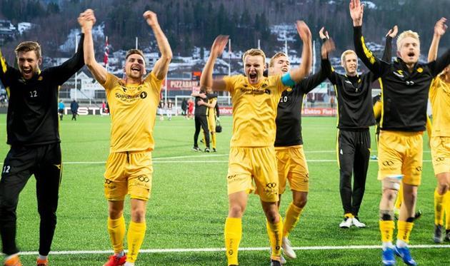 Блестящий гол с чемпионата Норвегии на 101-й минуте в матче с 9 голами