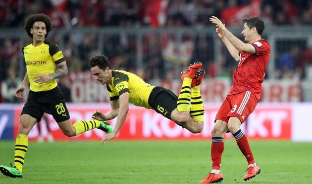Бавария мюнхен 0 1 боруссия дортмунд видео