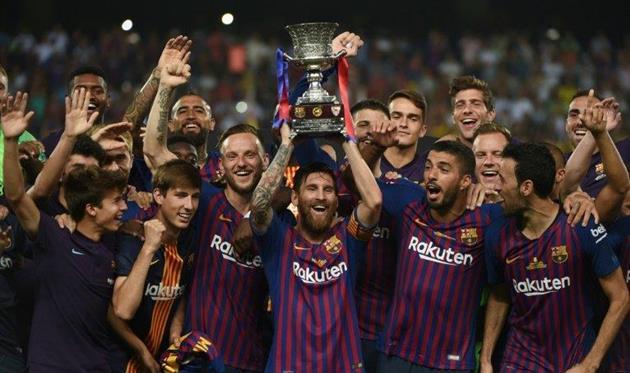 Барселона является действующим обладателем Суперкубка Испании, FC Barcelona