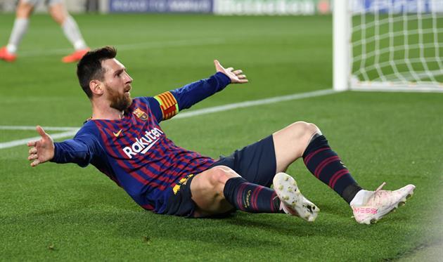 Месси забил 600-й гол за Барселону
