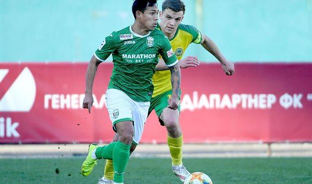 Варгас, фото ФК Карпаты