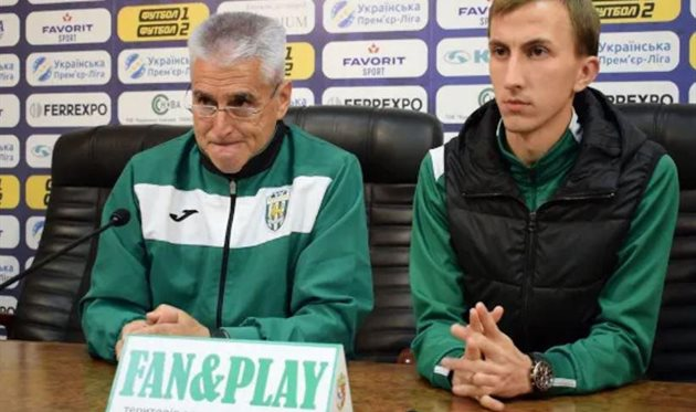 Фабри Гонсалес (слева), ФК Карпаты