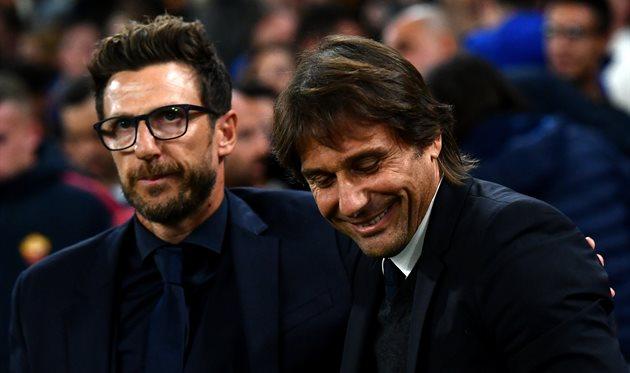 Эусебио Ди Франческо и Антонио Конте, Getty Images