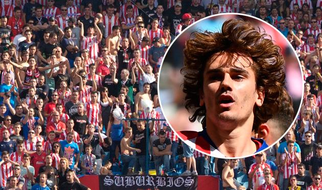 Фанаты Атлетико — Гризманну: Надеемся, ты больше не сыграешь в нашей футболке ни минуты