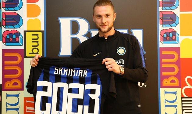Милан Шкриниар, фото ФК Интер