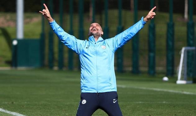 Хосеп Гвардиола, фото ФК Манчестер Сити
