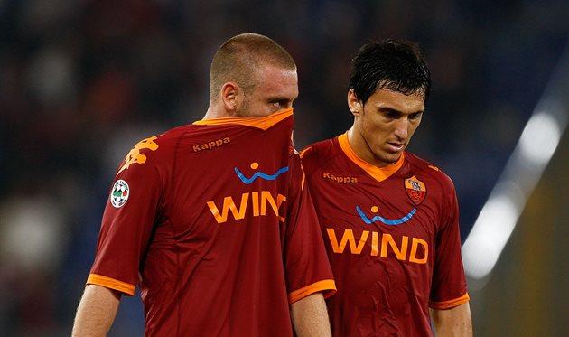 Даниэле Де Росси и Николас Бурдиссо пять лет играли вместе за Рому, Getty Images