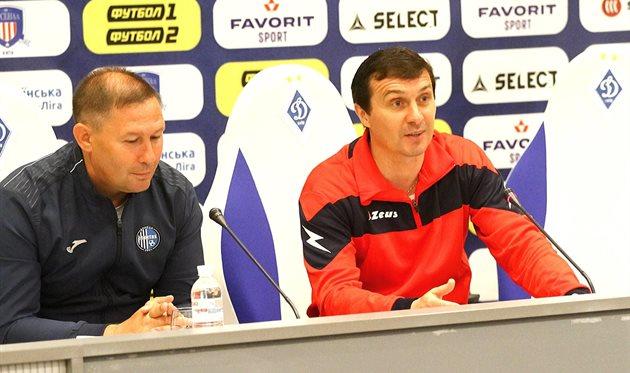 Игорь Климовский (слева) и Игорь Леонов (справа), фото ФК Арсенал-Киев