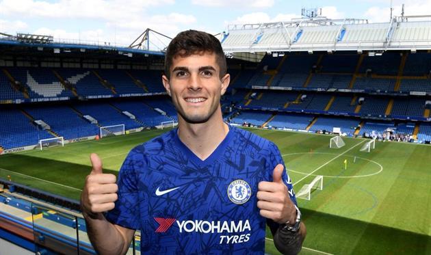 Кристиан Пулишич, photo Chelsea FC