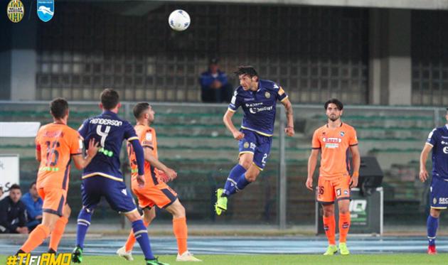 Верона - Пескара 0:0, фото ФК Верона