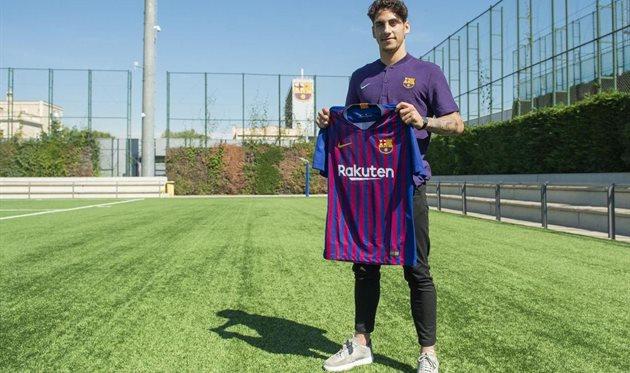 Людовит Рейс, фото ФК Барселона