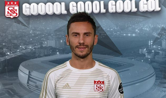 Сергей Рыбалка, photo Sivasspor