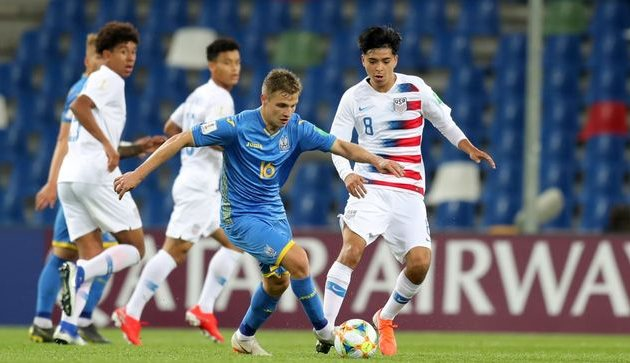Украина U-20 — США U-20, Getty Images