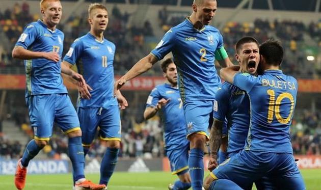 Победный гол забил Денис Попов, фото ФФУ