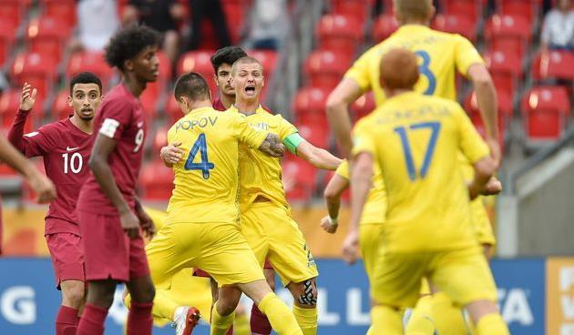 Катар U-20 — Украина U-20, fifa.com