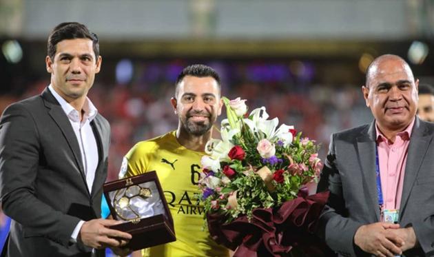 Теперь Хави - тренер, фото ФК Аль-Садд