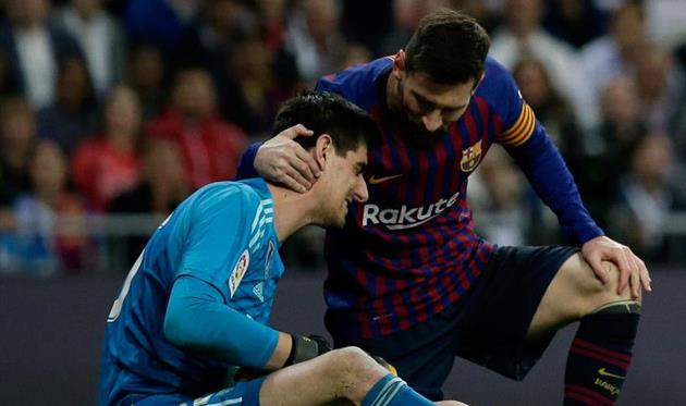 Реал обошел Барселону, getty images