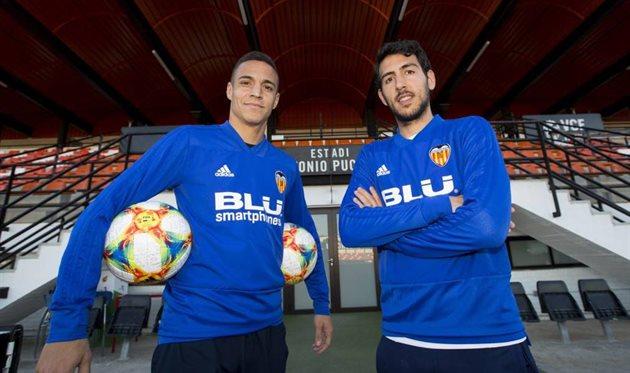 Родриго и Дани Парехо, photo Valencia CF