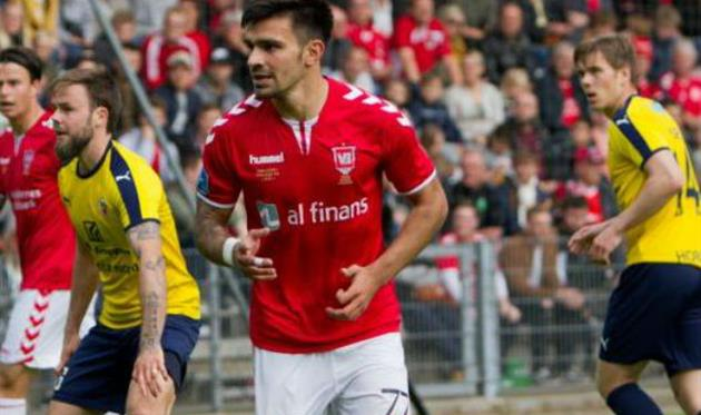 Сергей Гринь, фото: vejle-boldklub.dk