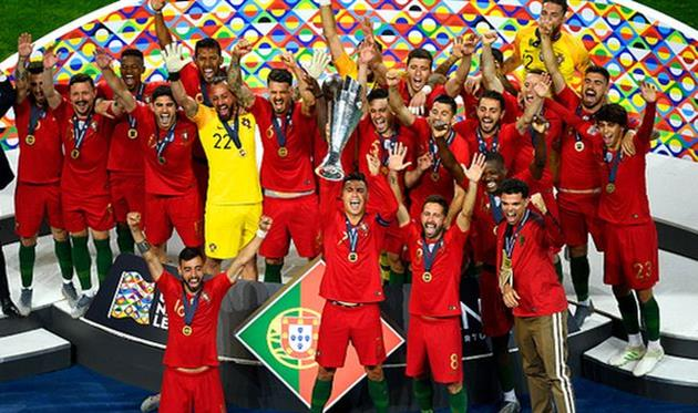 радость игроков сборной португалии, getty images